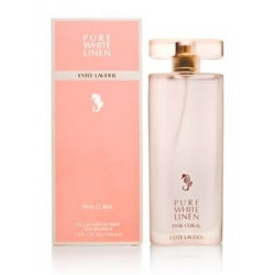 Pure White Linen Pink Coral by Estee Lauder