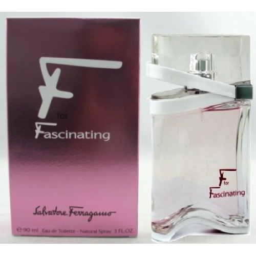 F For Fascinating by Salvatore Ferragamo